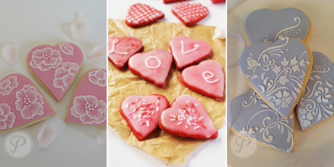 How to Decorate Perfect Valentine's Sugar Cookies with Royal Icing, Palo Alto, California