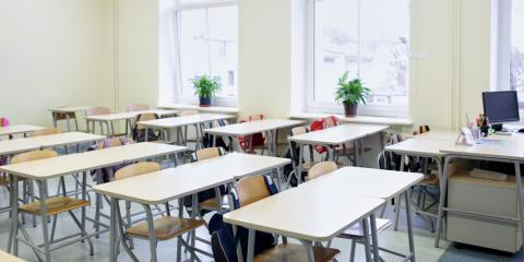 Selecting Between School Desks or Tables in the Classroom, Loveland, Ohio