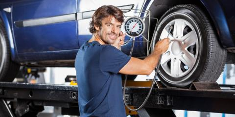 Top 3 Causes of Low Tire Pressure, Anderson, Ohio