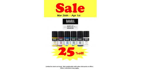 Liquitex Acrylic Gouache SALE, Honolulu, Hawaii