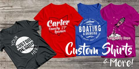 5 Reasons to Create Custom Shirts, Lorain, Ohio