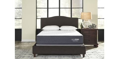 Queen Bed Limited Edition Firm By Ashley 472 Mcguire