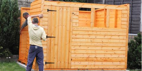 3 Tips for Building a Wooden Shed, Norwood, Ohio