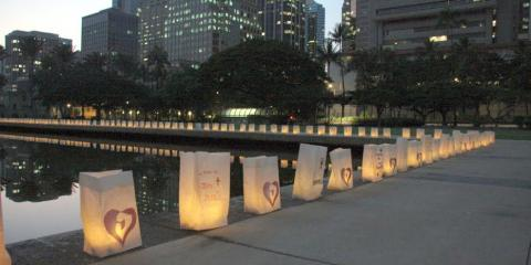 Join the Pregnancy Problem Center for Pregnancy Support and a Luminary Ceremony, Honolulu, Hawaii