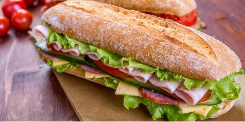 3 Delicious Sandwiches to Try for Lunch, Port Jervis, New York