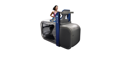 Training and Rehab on the AlterG , ,