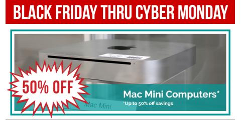 This Weekend Only: Save up to 50% OFF a Mac Mini, Northwest Harris, Texas