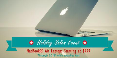 MacBook® Air Laptops Starting at $499 - Experimac Portsmouth, Portsmouth, New Hampshire