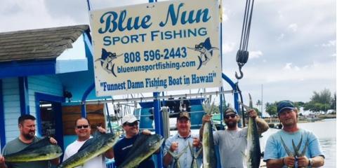 Blue Nun Sportfishing, charter fishing, Services, Honolulu, Hawaii