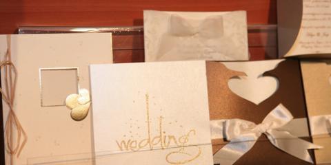 Explanation of Debossing & Embossing for Wedding Invitations, Henrietta, New York