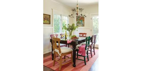 AN ABODE FILLED WITH COLOR, VINTAGE, AND CHARM, Flower Mound, Texas