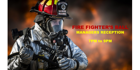 Fire Fighters Ball Manager Reception, Richmond Hill, Georgia