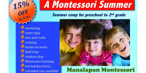 Promote Your Child's Development With Manalapan Montessori's Summer Camp Experience, Manalapan, New Jersey
