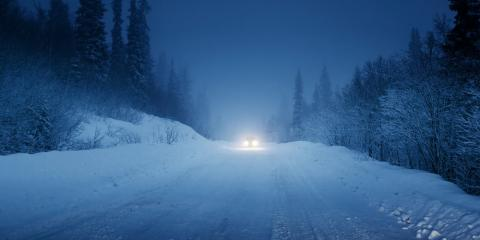 How Road Sand Makes Winter Driving Safer, Manchester, Connecticut