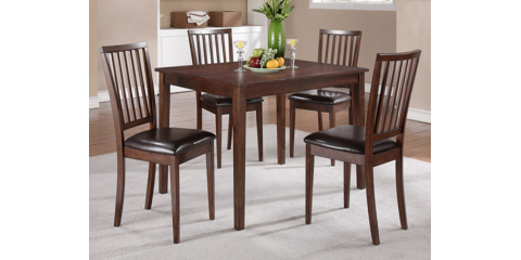 MANGO 5 PIECE DINETTE SET DINING TABLE Amp 4 CHAIRS 387 St