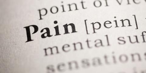How Do You Define Chronic Pain? Twin Cities Physicians Share 3 Different Perspectives, Coon Rapids, Minnesota