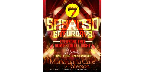 SABROSO SATURDAYS- MARCH 7- MAMAJUANA CAFE PATERSON, Paterson, New Jersey
