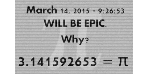 Pi Day 2015, Manasquan, New Jersey