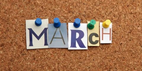 March is here, good times ahead! , Lake Mary, Florida
