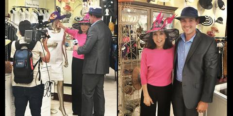 Marilyn Hellman Featured on ABC News - Derby Hat Fashion Tips, Naples, Florida