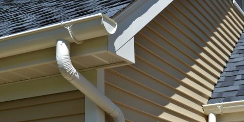 Does your house need new gutters marsh building for Does a house need gutters