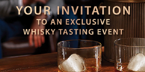 Your Invitation to Martin Brothers Exclusive Whisky Tasting Event