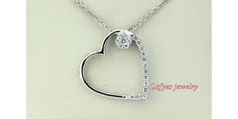 Maspeth Jewelry Store's Diamond Heart Pendants Make the Perfect Gift, New York, New York