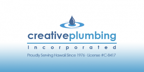 Gas, Electric, And Solar Water Heaters: Creative Plumbing Can Fix & Install Them All!, Honolulu, Hawaii
