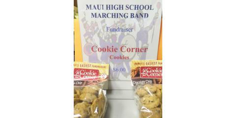 Maui High Marching Band Cookie Fundraiser, Wailuku, Hawaii