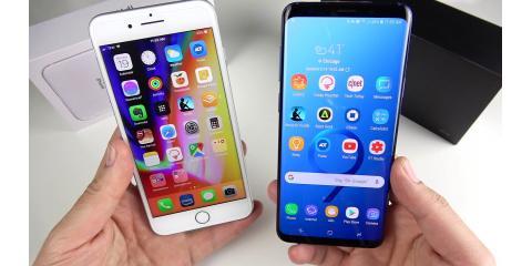 SAMSUNG GALAXY S9 Plus or the APPLE iPHONE 8 Plus, Boscobel, Wisconsin