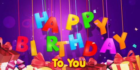 Happy Birthday from Leap N' Laugh, Greece, New York