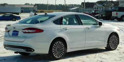 Certified Pre-Owned 2018 Ford Fusion Titanium $21,325, Barron, Wisconsin