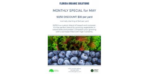 May Monthly Special, Brandon, Florida