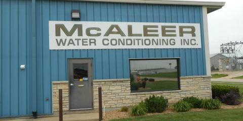 McAleer Water Conditioning, Inc., Water Softeners, Services, Anamosa, Iowa