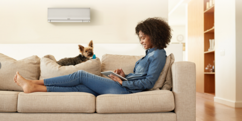 Earn Up to a $500 Rebate on a Mitsubishi Electric® System, Wakefield, Massachusetts
