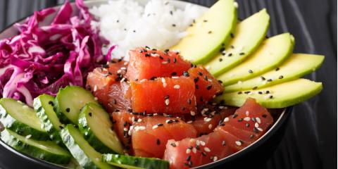 4 Reasons Poke Bowls Are a Great Healthy Meal Option, Melville, North Carolina