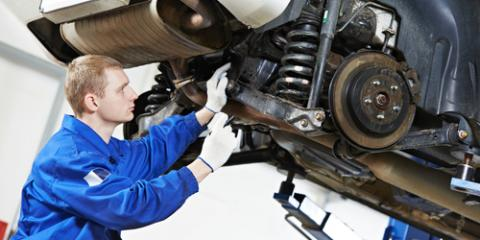 Northern Kentucky Car Repair Experts Discuss Suspension Problems, Erlanger, Kentucky
