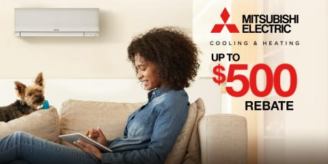 Save $500 on Mitsubishi Electric® Multi-Zone Heating Systems, Brookhaven, New York