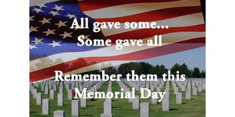 Happy Memorial Day, Never Forget, Anchorage, Alaska