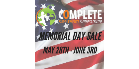 Memorial Day Sale - May 26th thru June 3rd!, Maryland Heights, Missouri