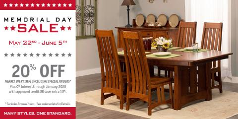 Memorial Day Sale, Lawrence, Indiana