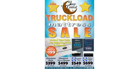 Truckload Mattress Sale!  Beautyrest Sealy TempurPedic!, Minocqua, Wisconsin