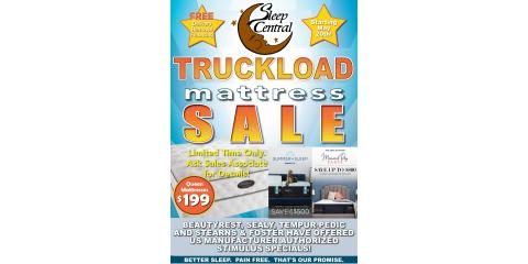 Memorial Day Mattress Truckload Sale!, Minocqua, Wisconsin