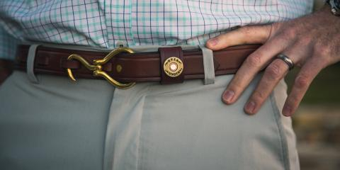 Casual vs. Formal Leather Belts, Jacksonville East, Florida