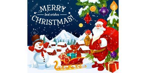 Merry Christmas, Staten Island, New York