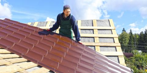 5 Benefits of a Metal Roof, Montrose, Michigan