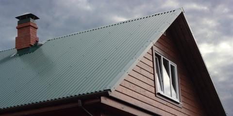 Standing Seam vs. Exposed Fastener Metal Roofing, Savannah, Tennessee