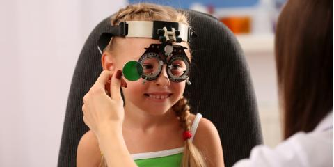 Eye Care Experts Share the Importance of Eye Exams for Children, Miami, Ohio