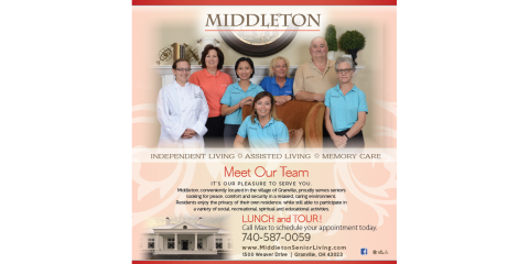 Be Our Guest at Middleton, Granville, Ohio
