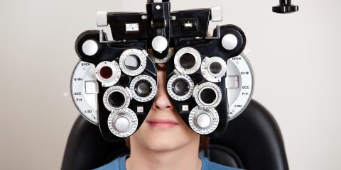 When Is an Eye Exam a Medical Evaluation?, Covington, Kentucky